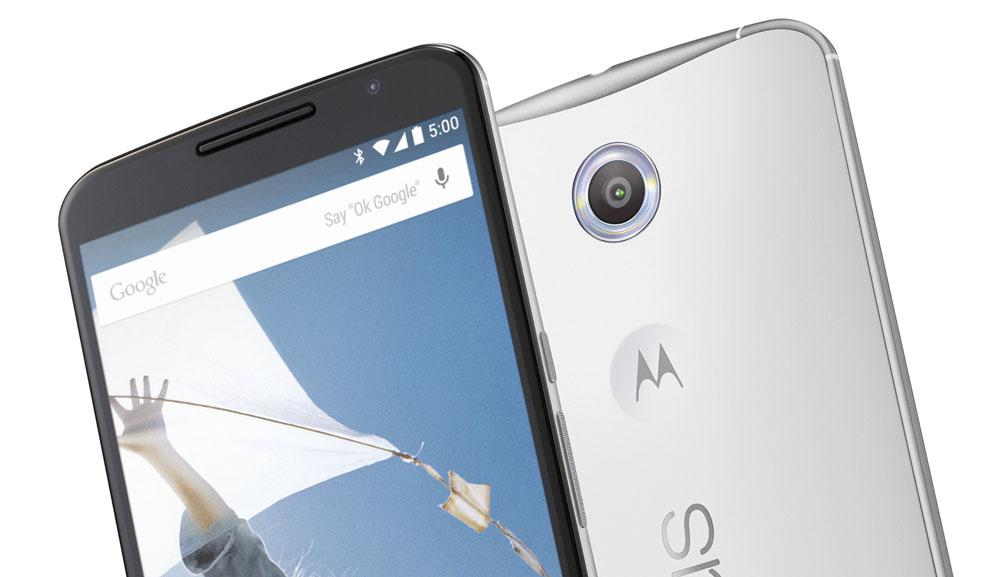 The recessed Motorola logo was originally going to be a fingerprint sensor