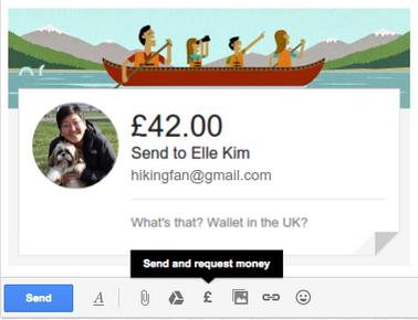 Google Wallet Gmail Send Cash