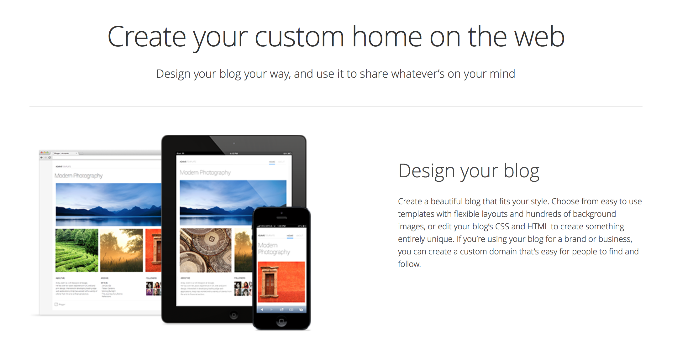 blogger-homepage