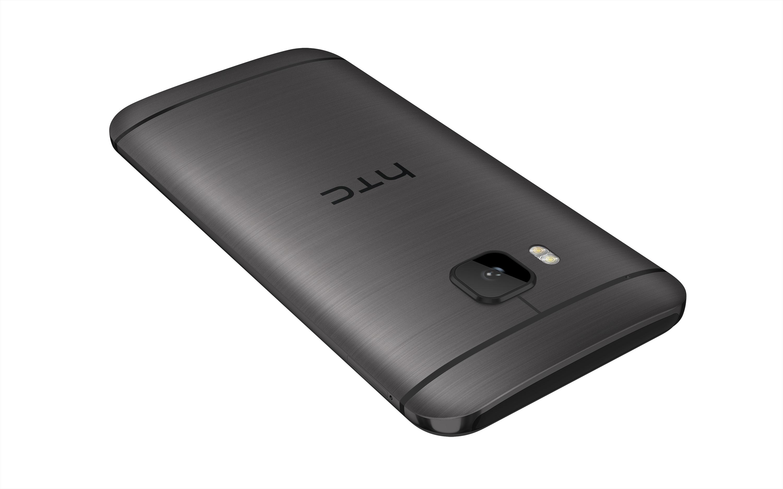 HTC One M9_Gunmetal_Back