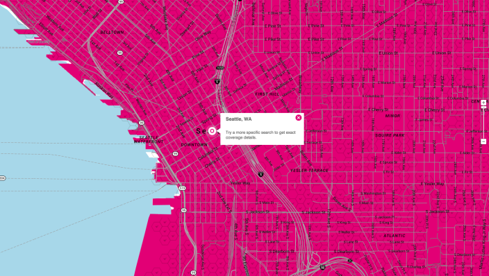 T-Mobile's 4G Network | Check Your Coverage | T-Mobile Blazing Fast 4G Coverage 2015-03-30 10-33-05