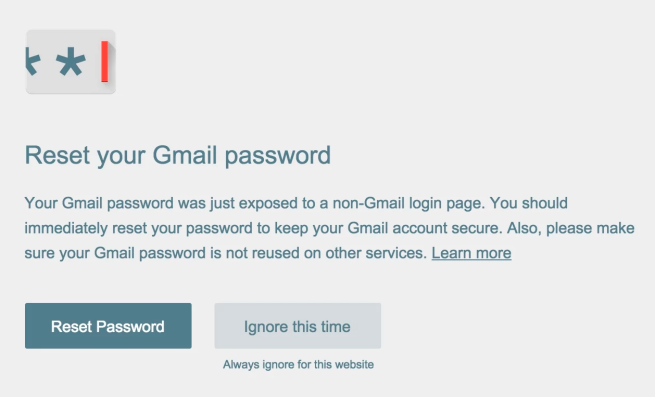 Password-alert