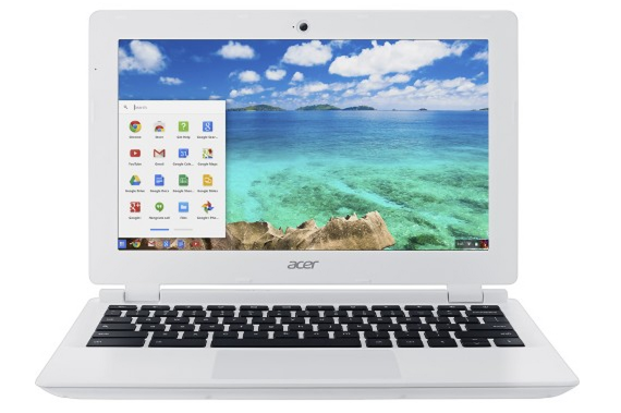 Acer 11.6%22 Chromebook Intel Celeron 2GB Memory 16GB eMMC Flash Memory White CB3-111-C8UB - Best Buy 2015-05-19 14-27-02