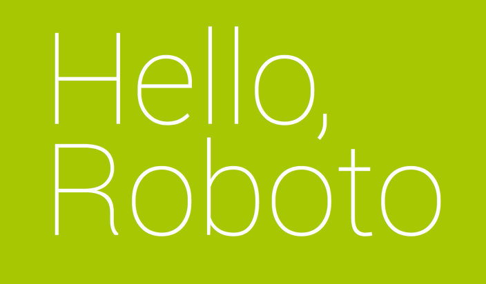 Hello-Roboto