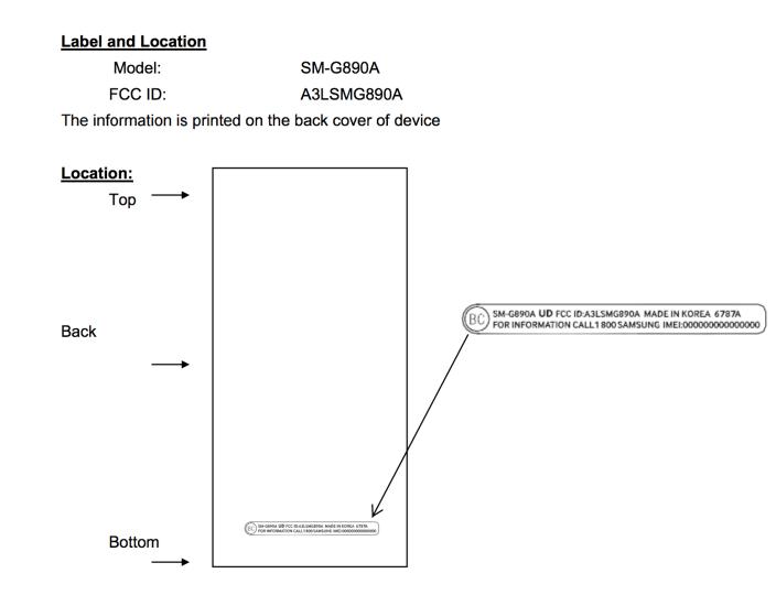 Samsung Galaxy S6 Active FCC