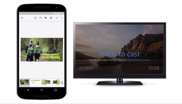 Show up, don't set up: Google Slides supports Chromecast and AirPlay - YouTube 2015-06-11 12-28-44
