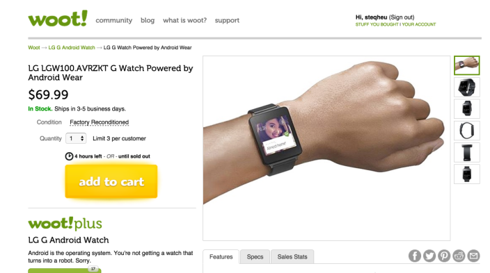 LG G Watch Powered by Android Wear - Woot 2015-07-12 20-05-35