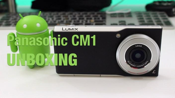 Panasonic CM1 unbox feature