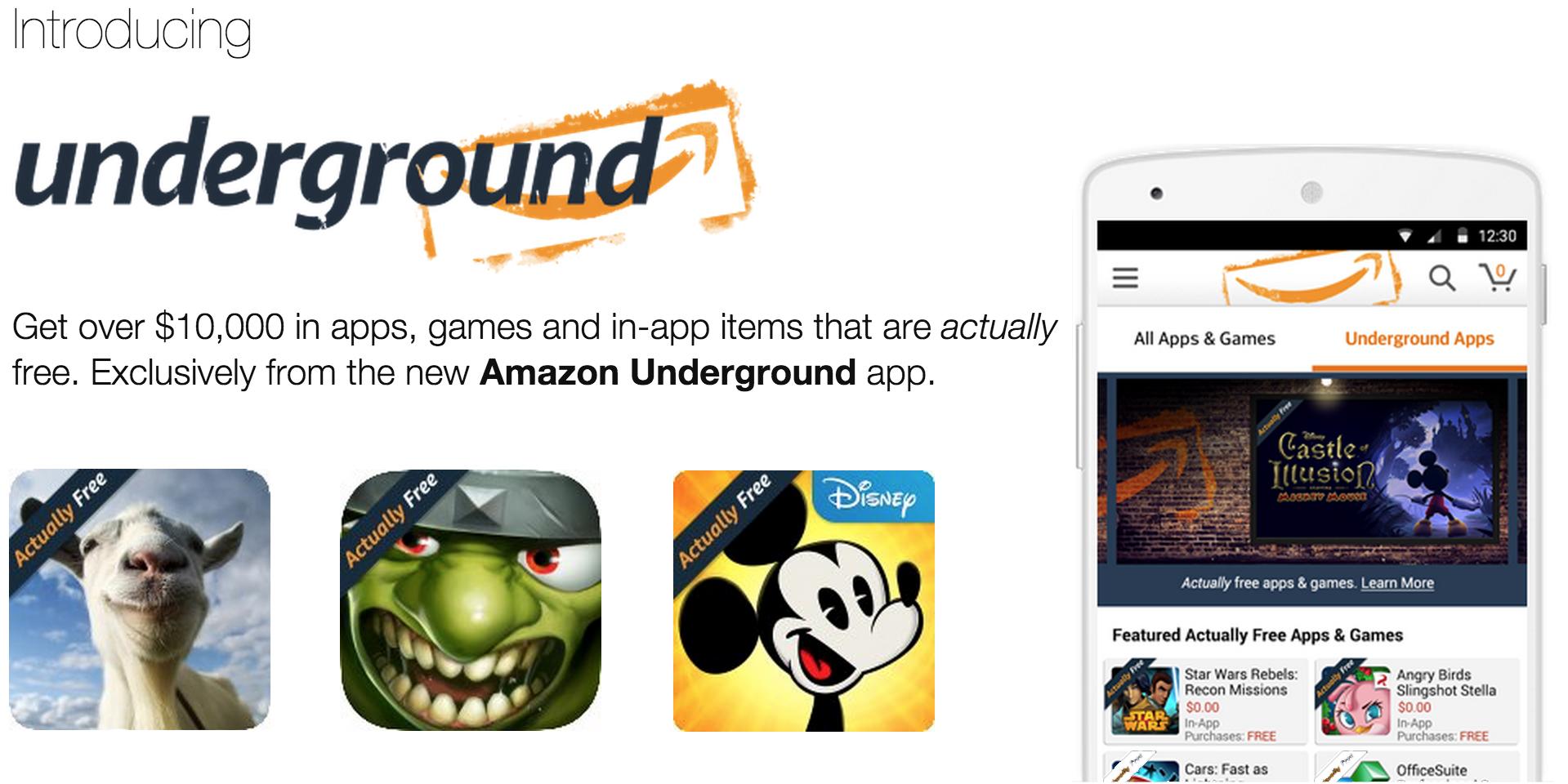 Amazon Underground Installieren