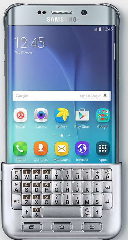 Could this Galaxy S6 Edge+ keyboard cover possibly be real? [Update: Yes] | 9to5Google 2015-08-13 11-05-36