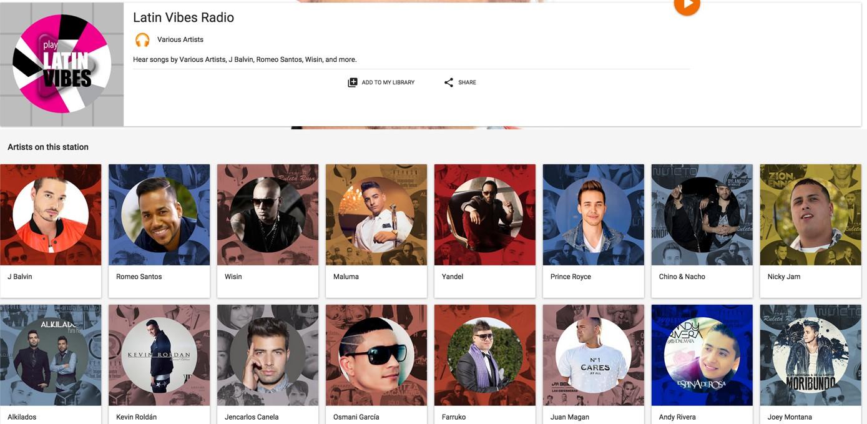 latin vibes free google play