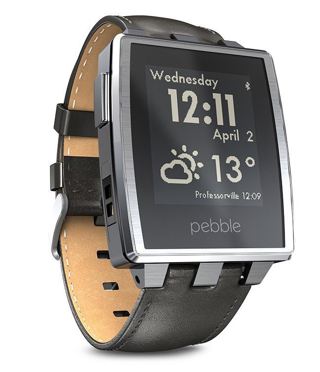 pebble-steel-smart-watch-for-iphone-and-android-devices-brushed-stainless1-e1412261592421
