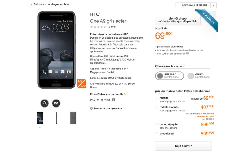 HTC one A9 Gris - 4G-4G+- écran HD 5 pouces - téléphone Android 2015-10-14 18-03-55