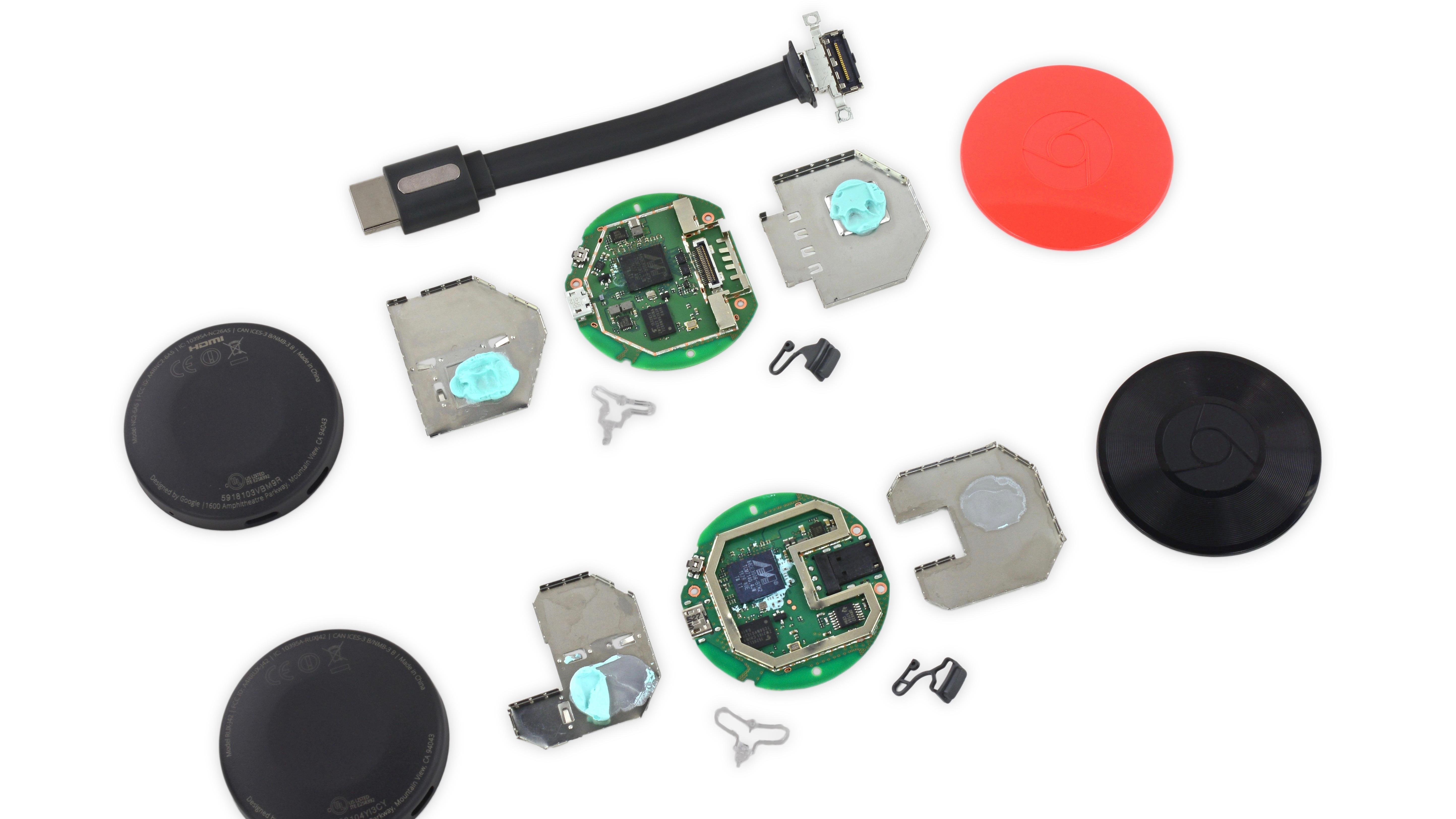 iFixit 2015 Chromecast and Chromecast Audio