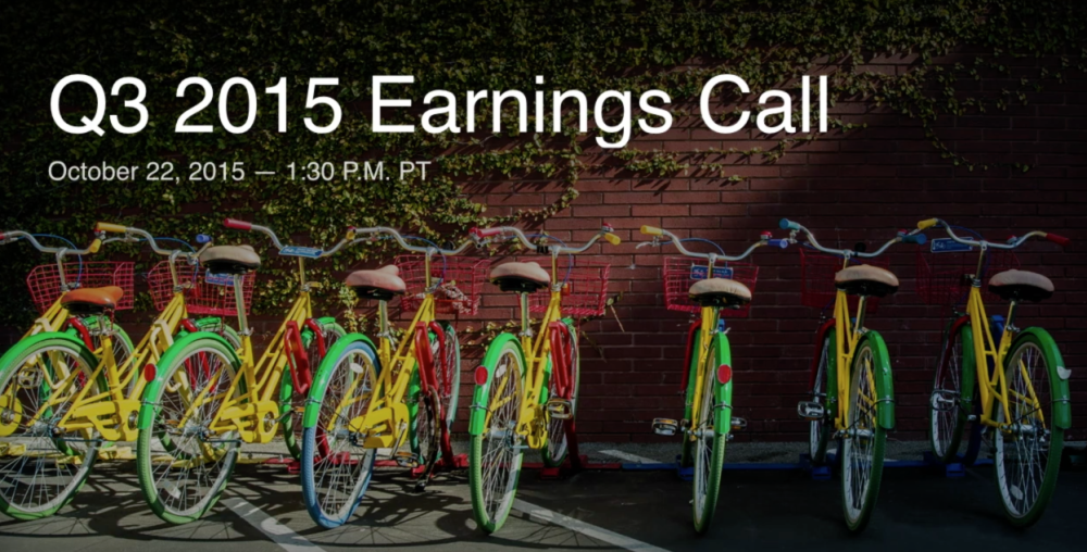 Q3 2015 Earnings Call - YouTube 2015-10-22 15-23-06