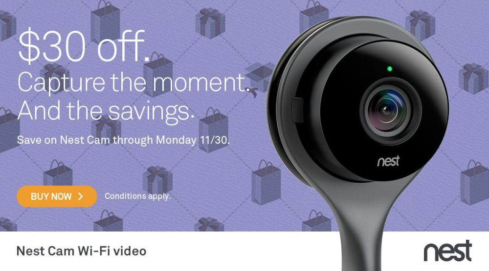 Nest Cam Black Friday