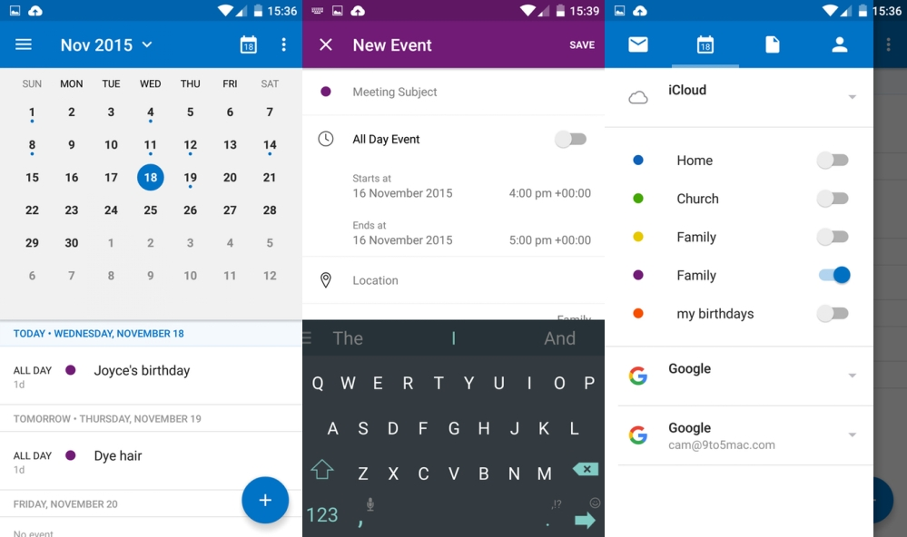 outlook-2-calendar-android