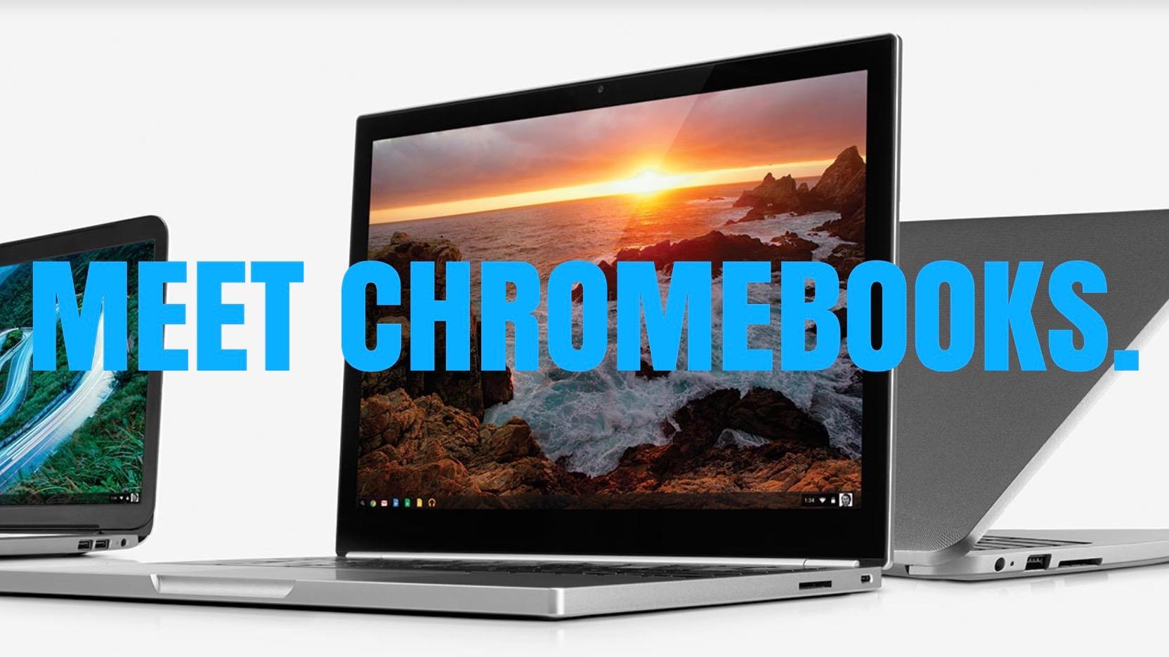 Chrome OS Chromebooks