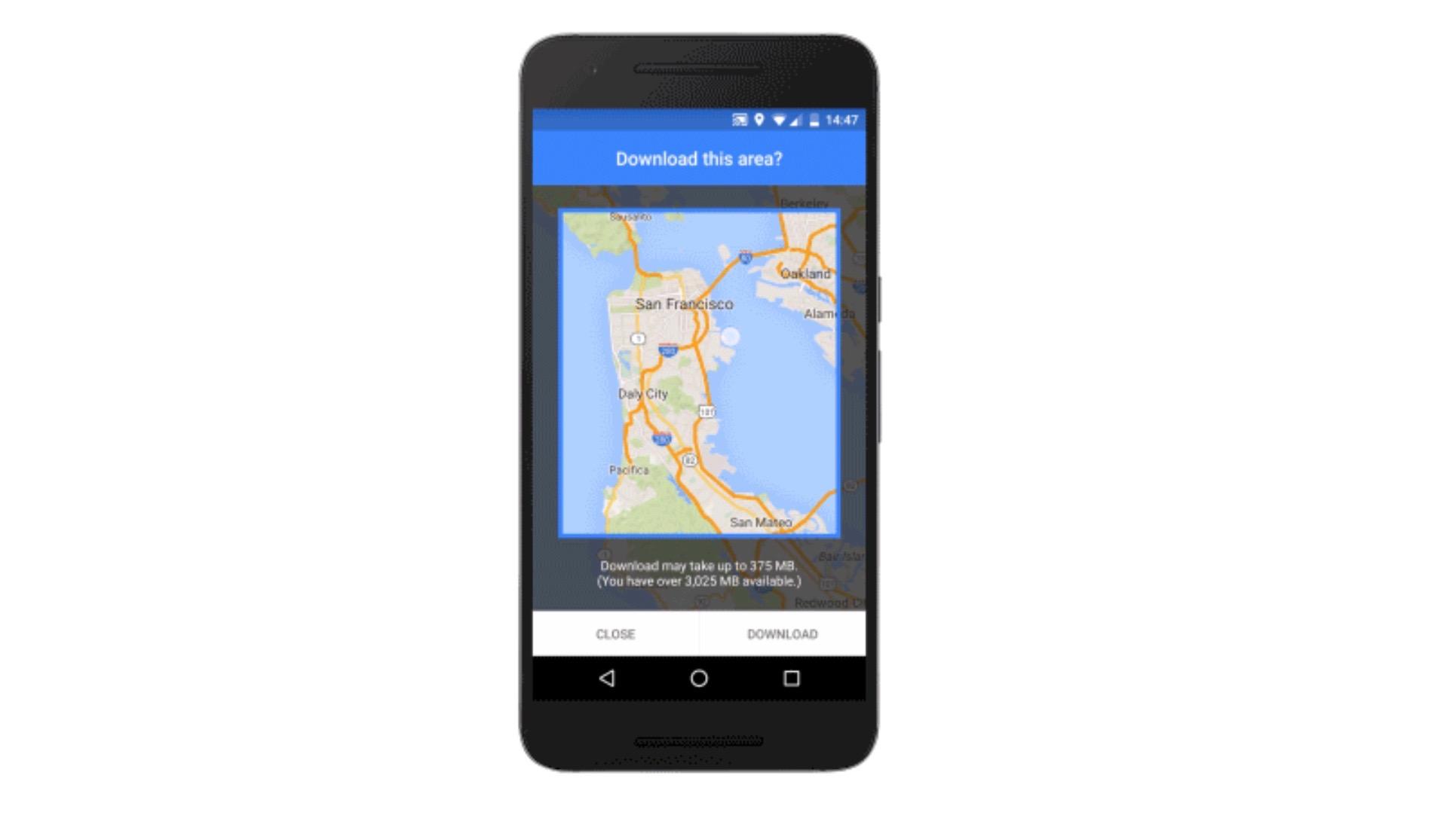 Google Maps offline 16-9