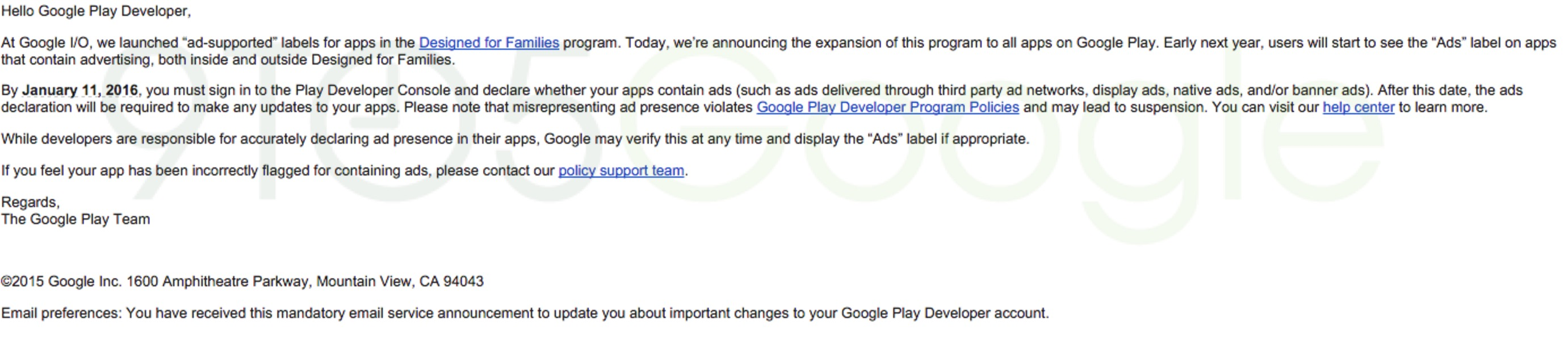 Google Play will soon warn users what Android apps have ads