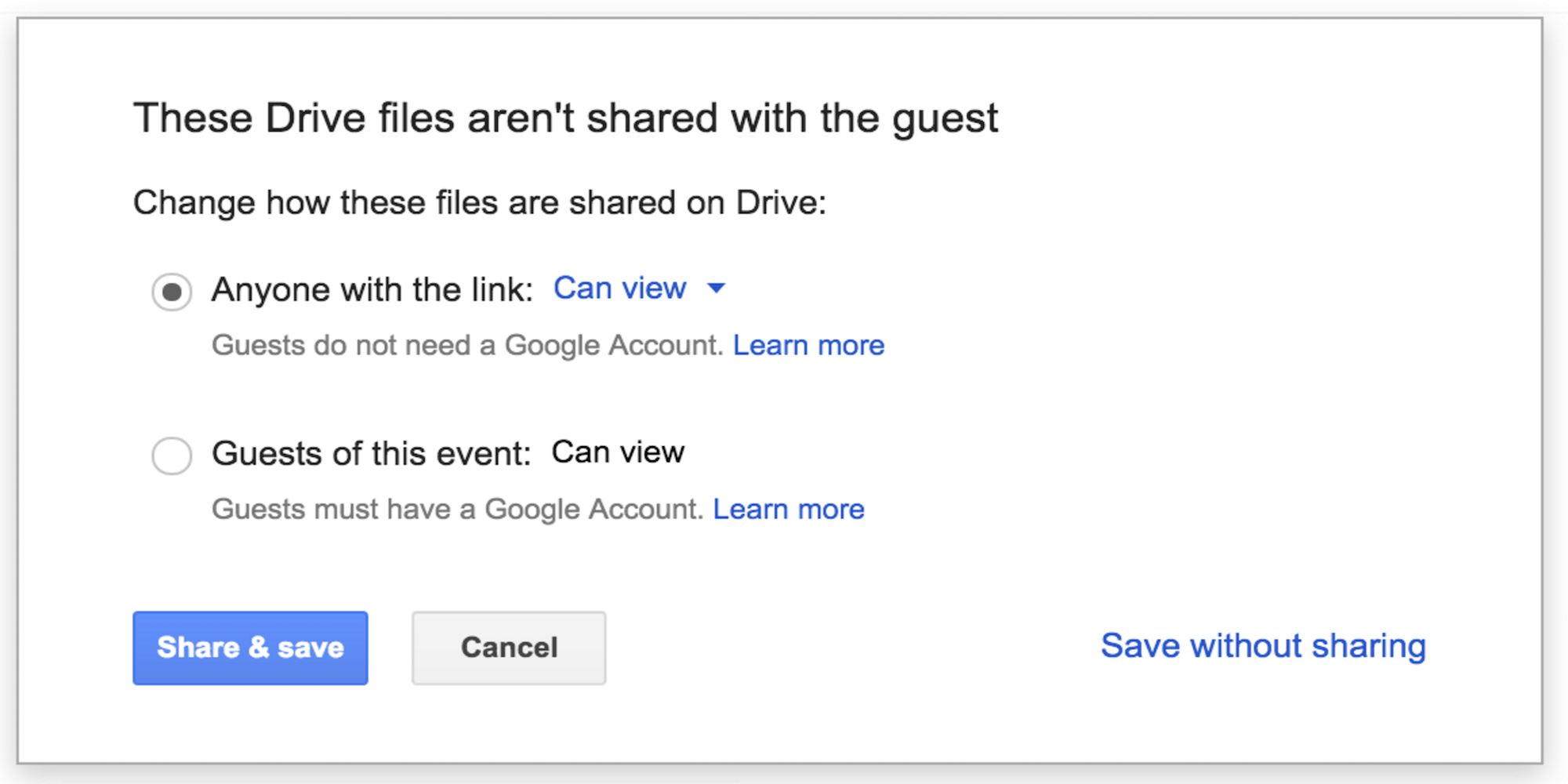 Google-apps-sharing
