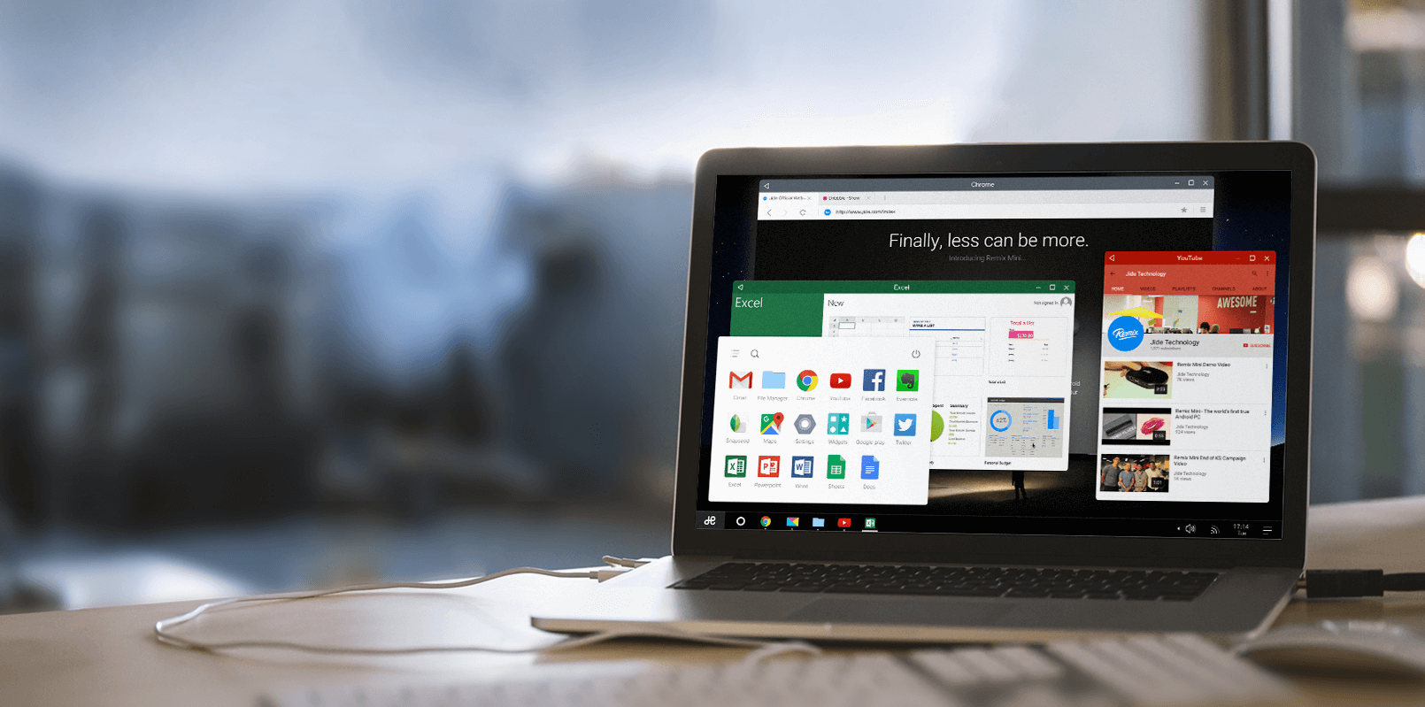 Remix OS 2 0 is a full desktop operating system that runs