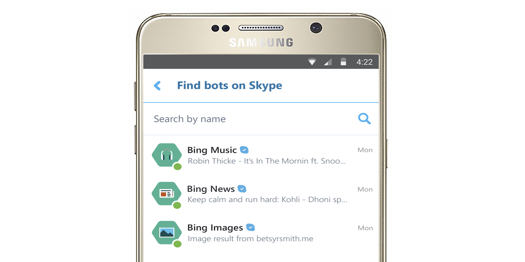 Android-Skype-Bots