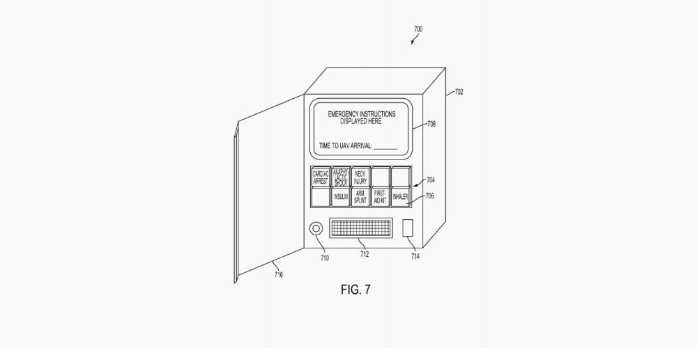 Medical Drones Patent