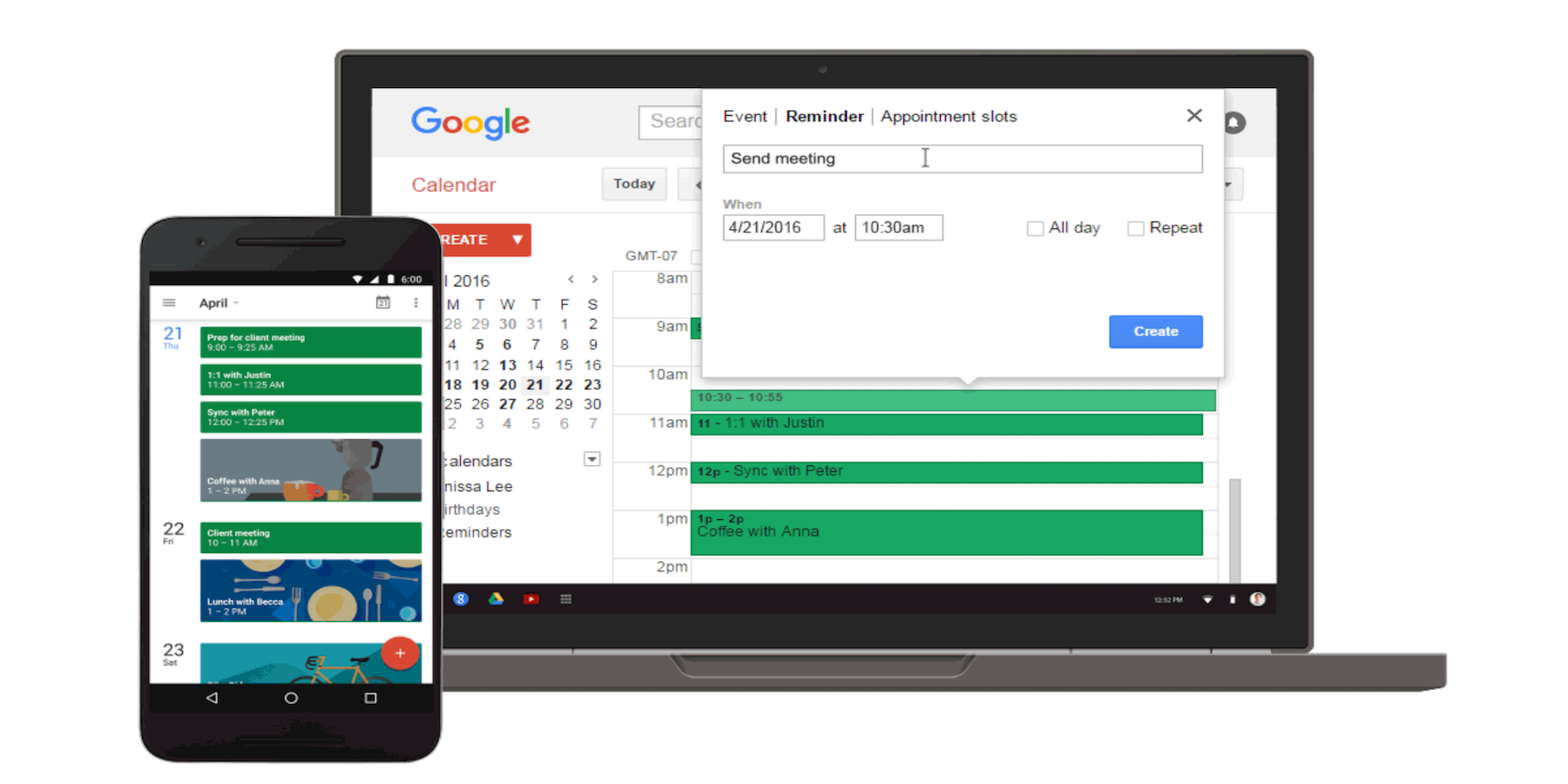 Google-Reminder-Calendar
