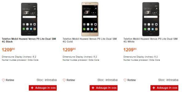 Huawei P9 Lite - Cel_ro_592x300