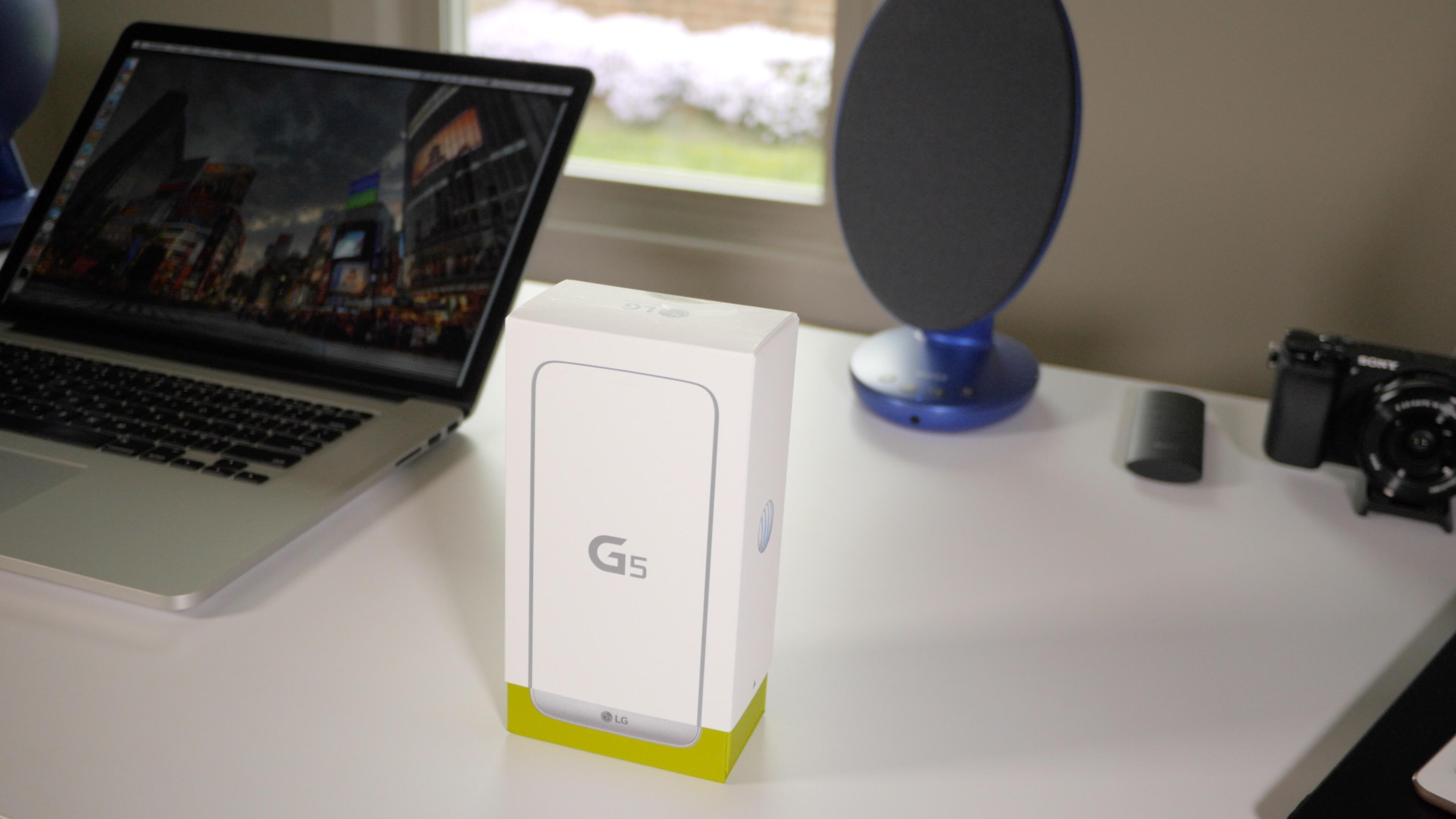 LG G5 Box