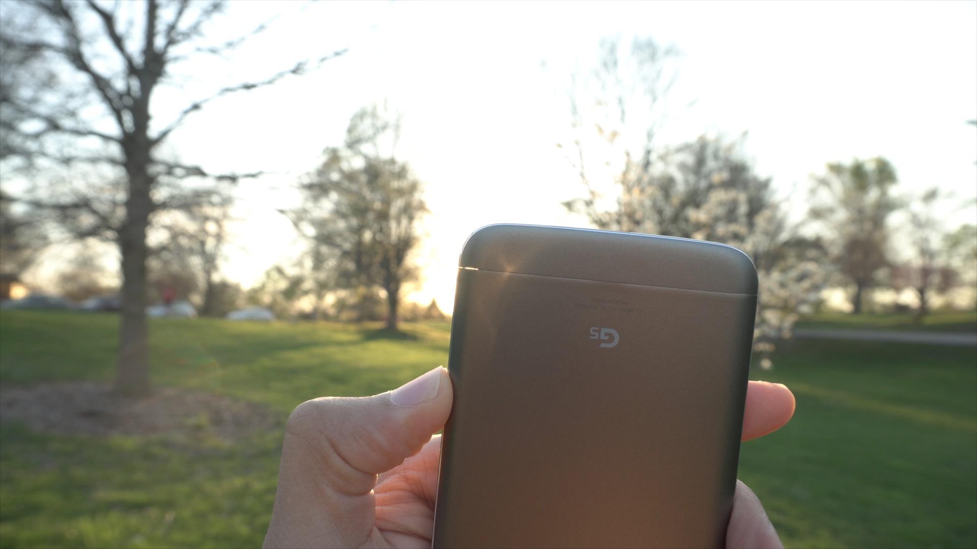 LG g5 Modular gap