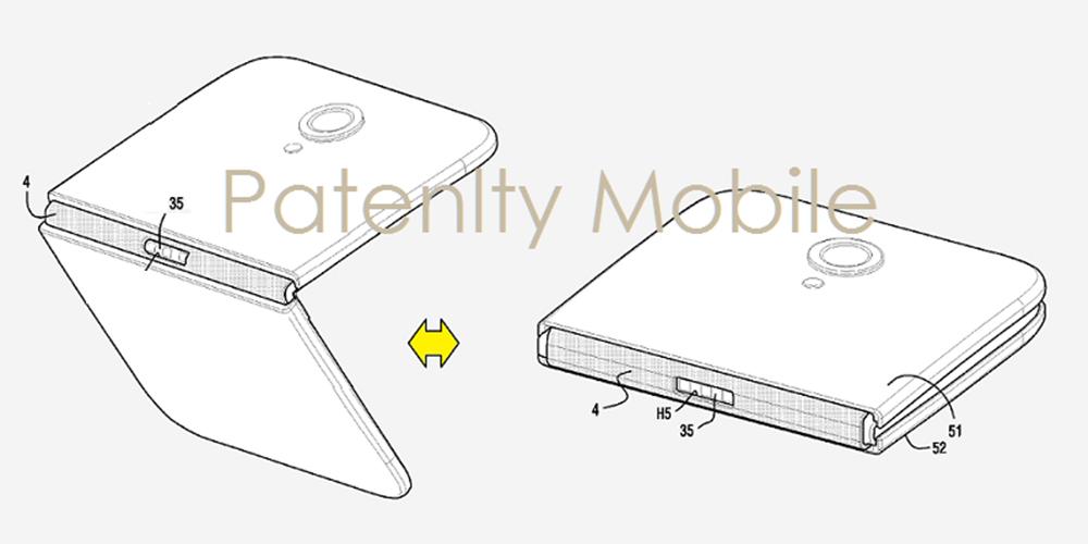 Foldable Galaxy Patent