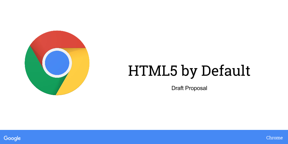 HTML5 by Default