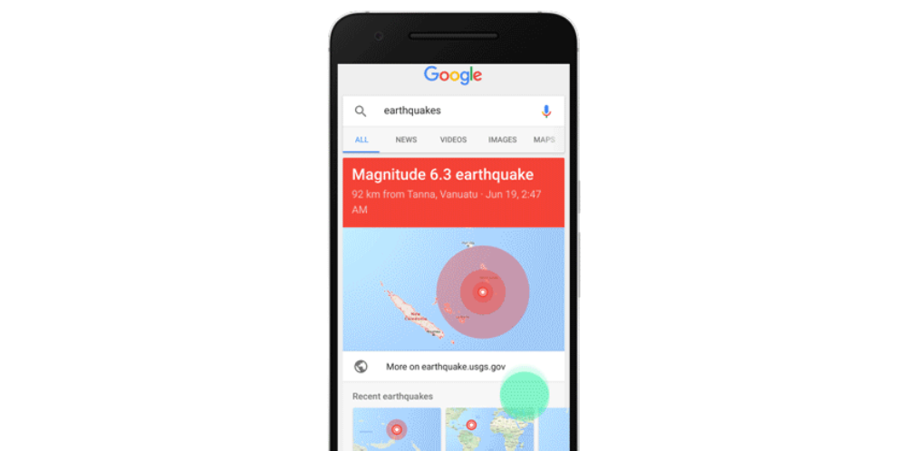 google-search-earthquake