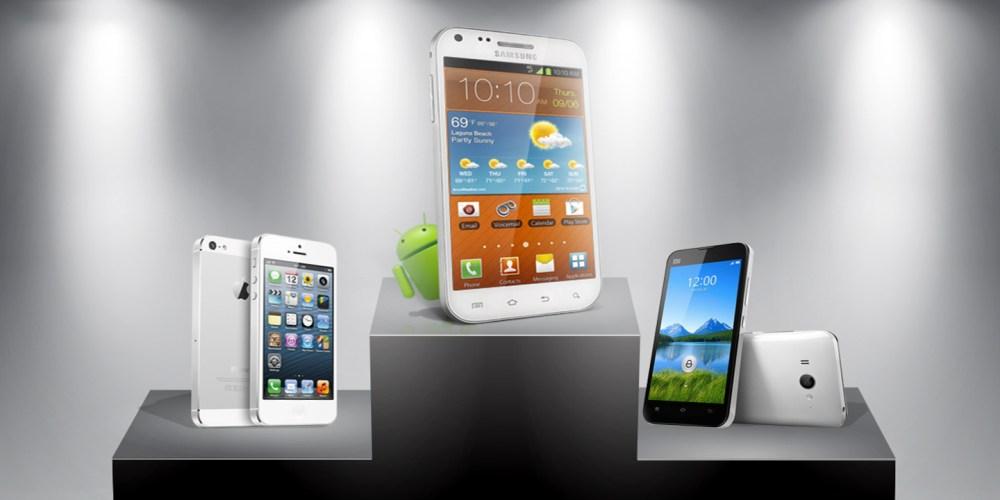 Huawei Samsung Apple