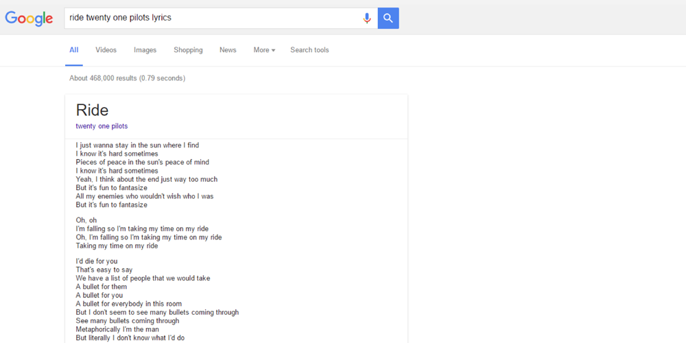 Google deal with LyricFind makes finding song lyrics a