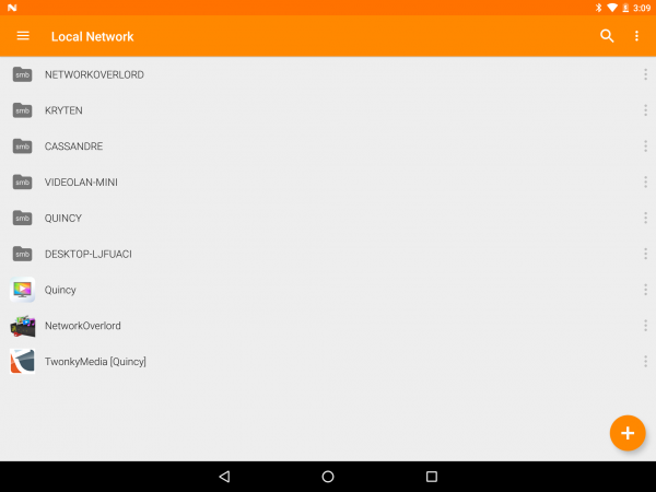 vlc for android create video playlist