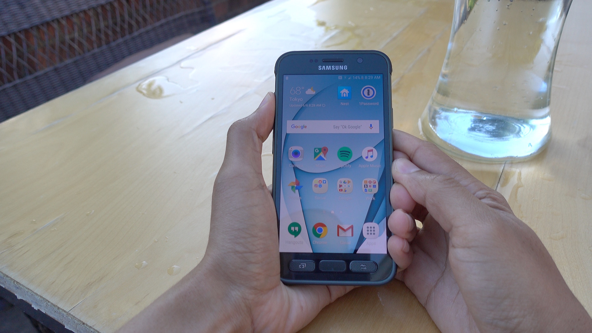 S7 Active front