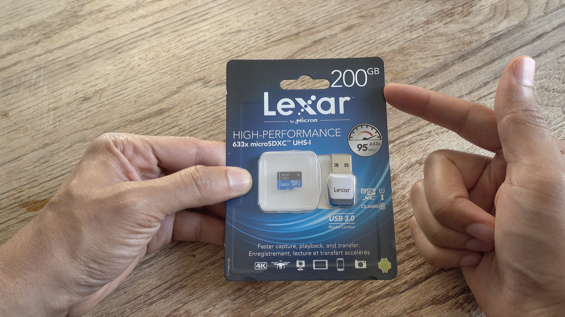 Lexar 633x unboxing