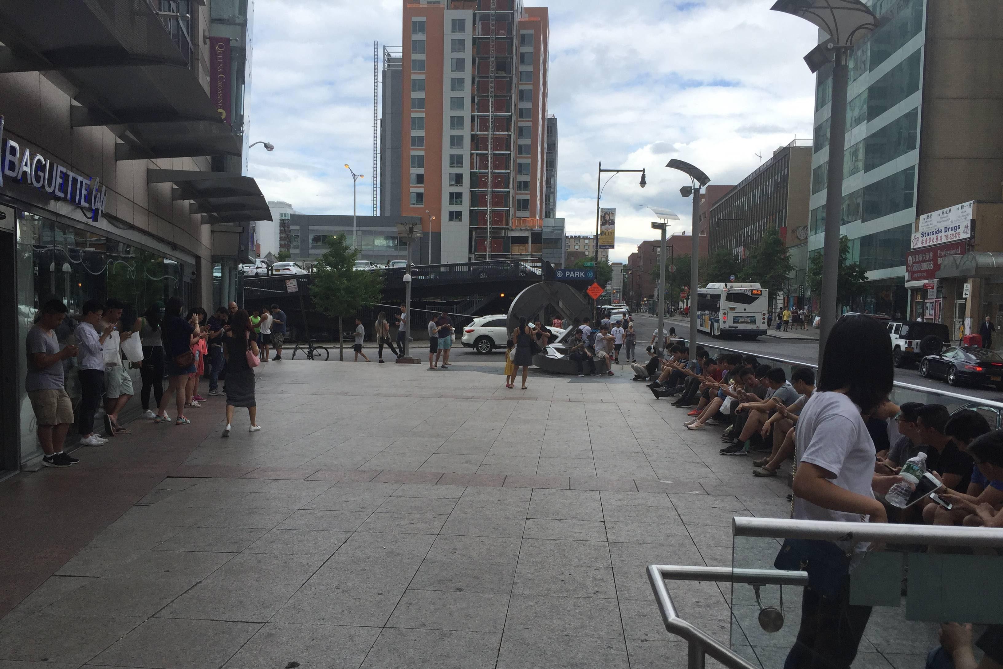 Flushing, New York Image via Reddit