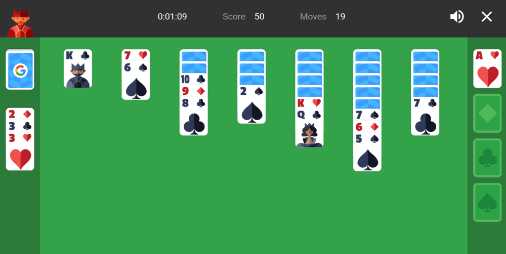 google-search-solitaire