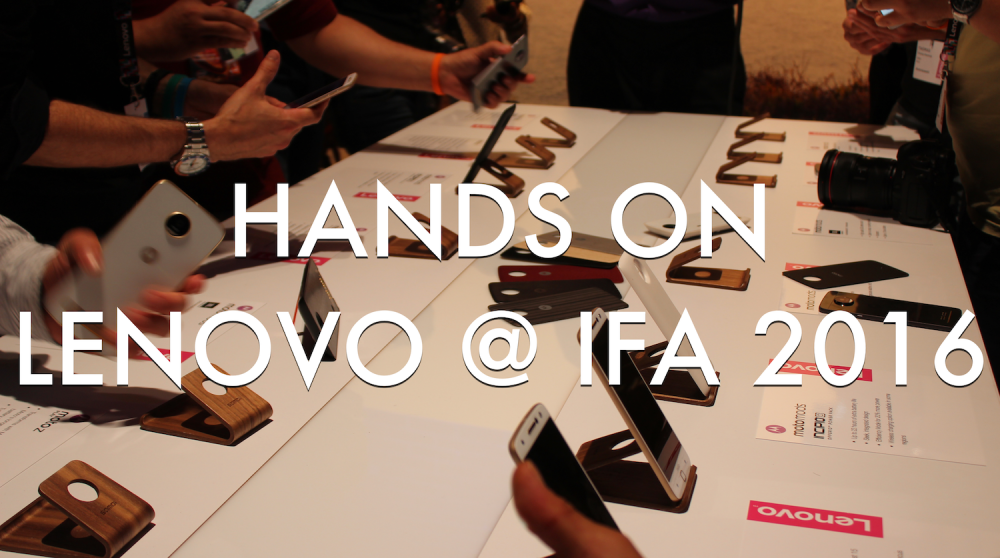 hands on lenovo
