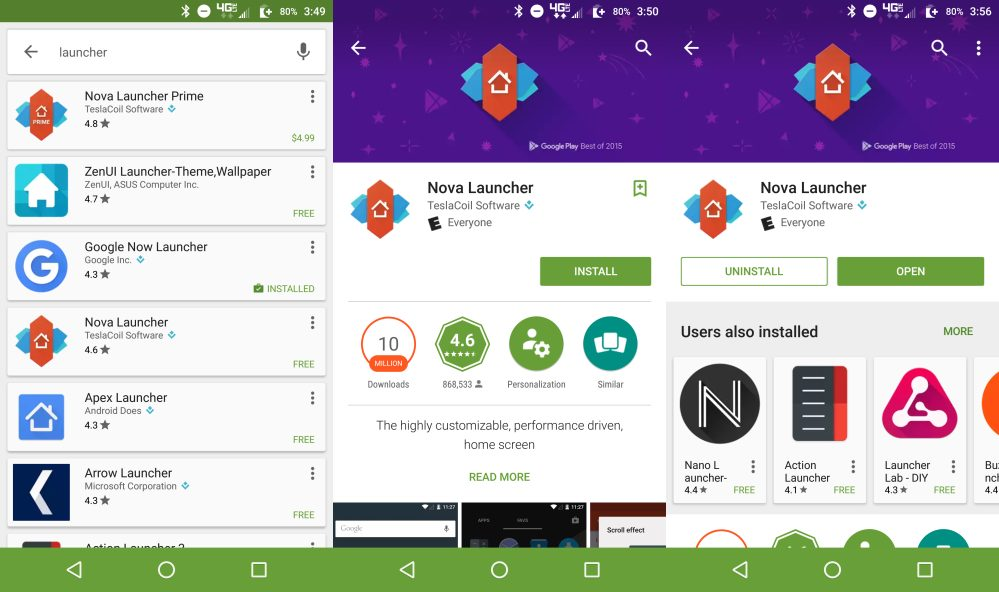 Android Basics: How to install and switch between third