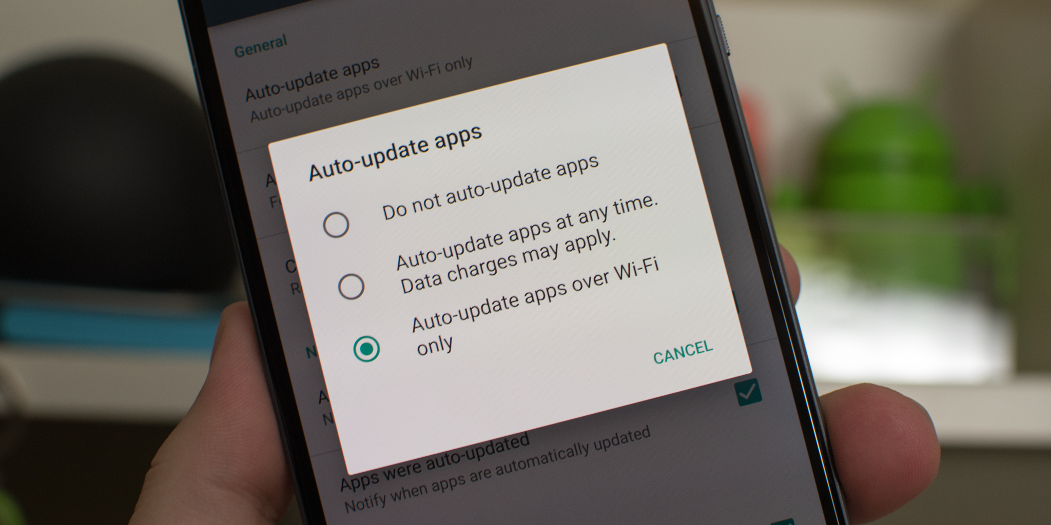 Google Play Store Automatic Updates