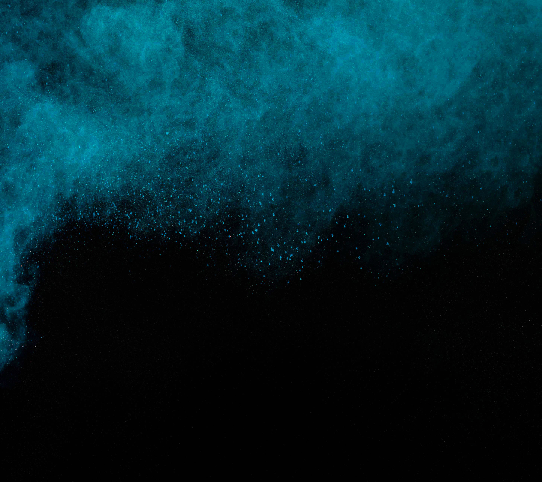 Powder, Misty blue