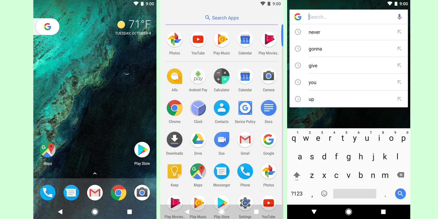 Google Wallpapers Pixel Launcher Hit The Play Store But The Latter Only Works W Pixel 9to5google