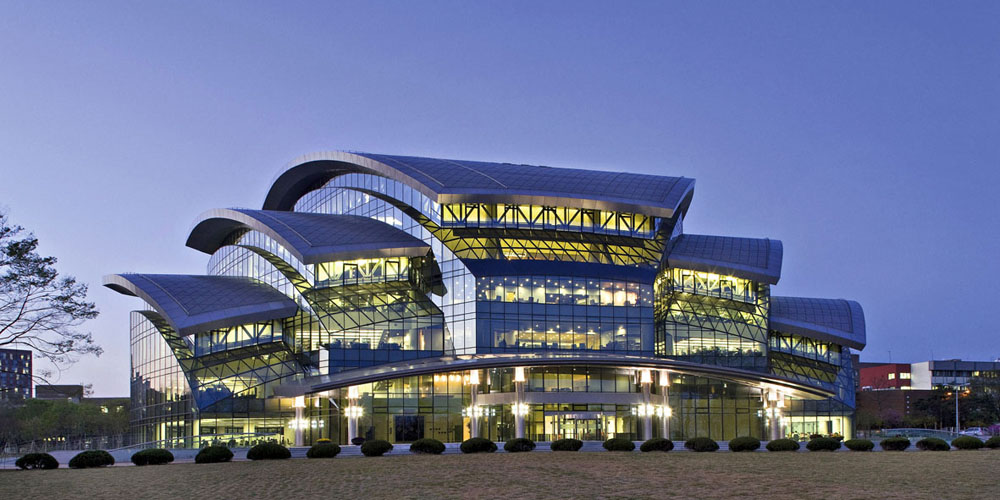 Samsung Library at Sungkyunkwan University
