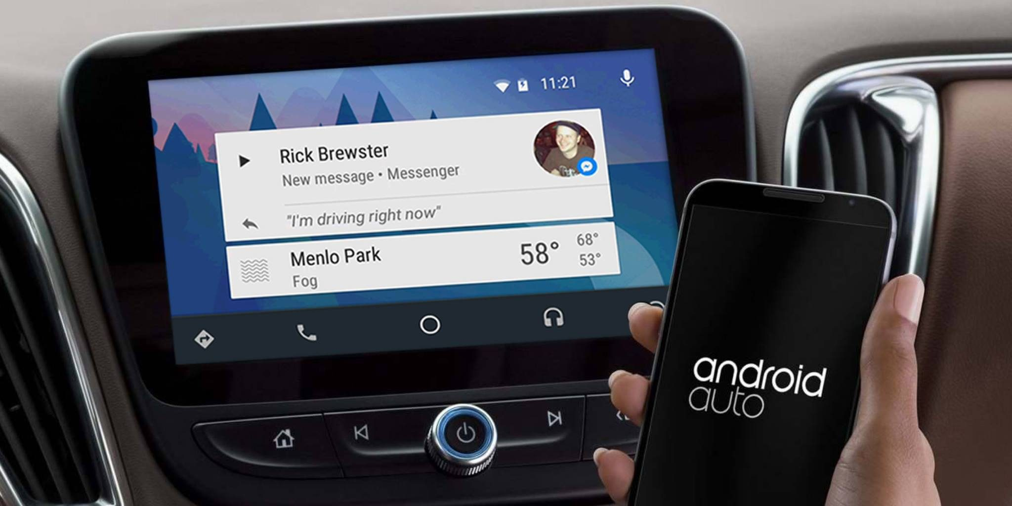 facebook-messenger-android-auto