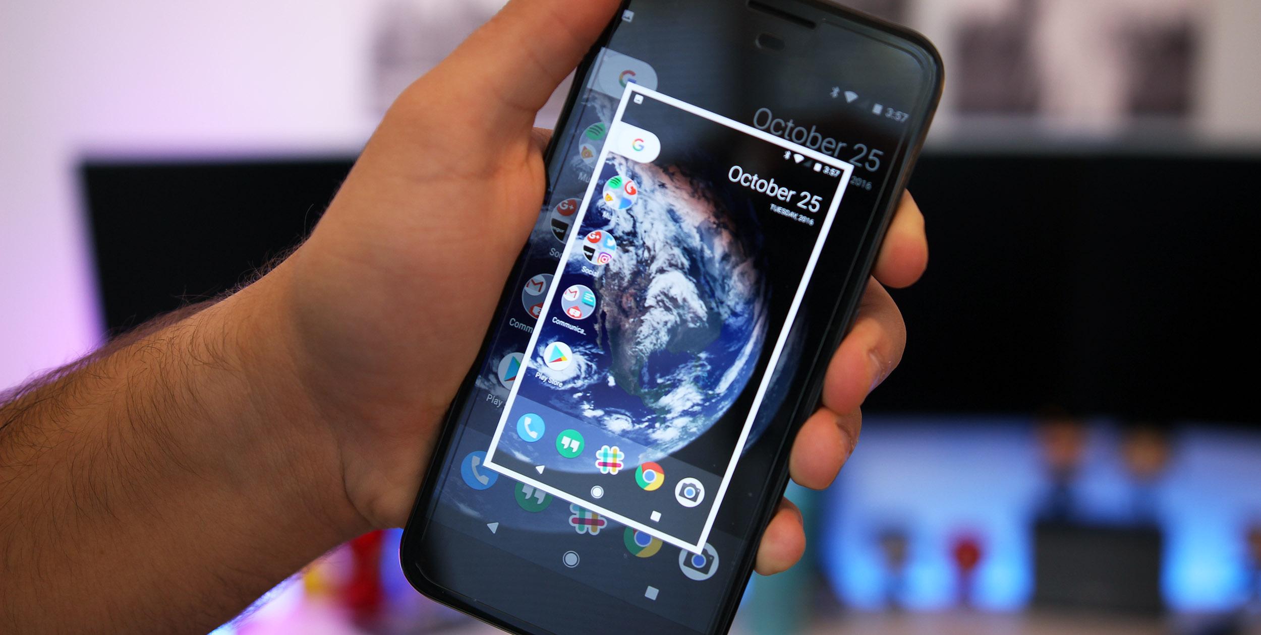 Google Pixel Screenshot
